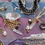 Edgy Reworked-Vintage Jewelry from Brooklyn