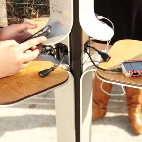 Where to Find the 25 Free Solar-Powered Charging Stations Hitting NYC