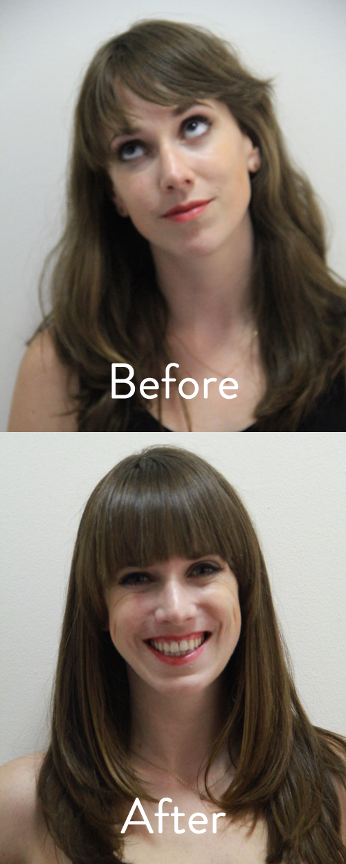 how to straighten hair