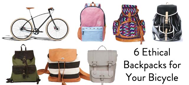 Backpacks to wear on your bicycle