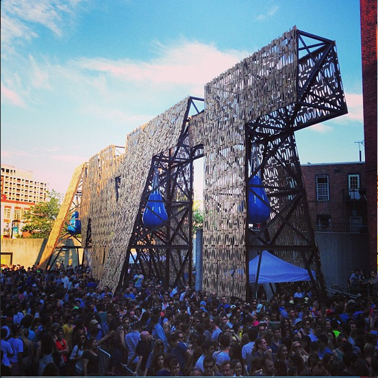 MoMA PS1 Party Wall