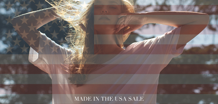 Sale Made in the USA