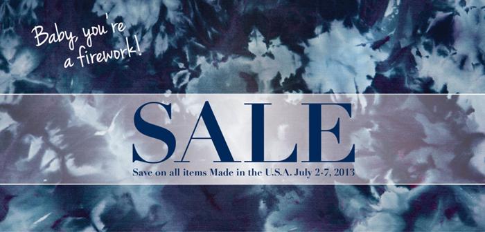 Sale Made in the U.S.A.
