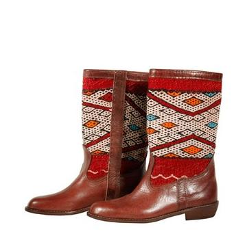 Elkarti Morocco Berber Boots