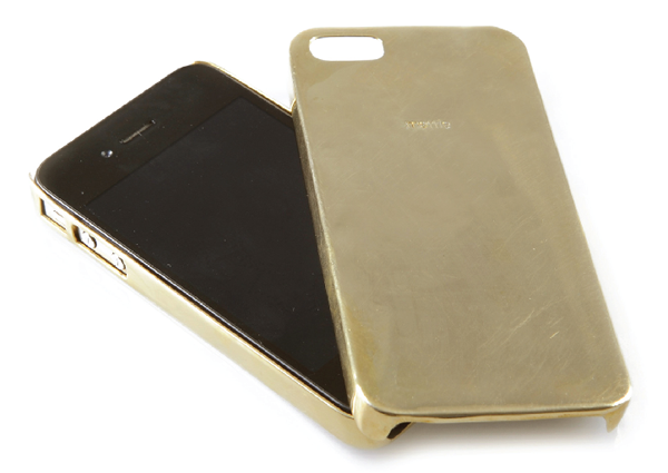 iphone case brass