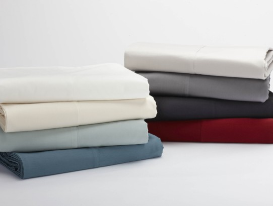 Coyuchi certified organic sateen sheets
