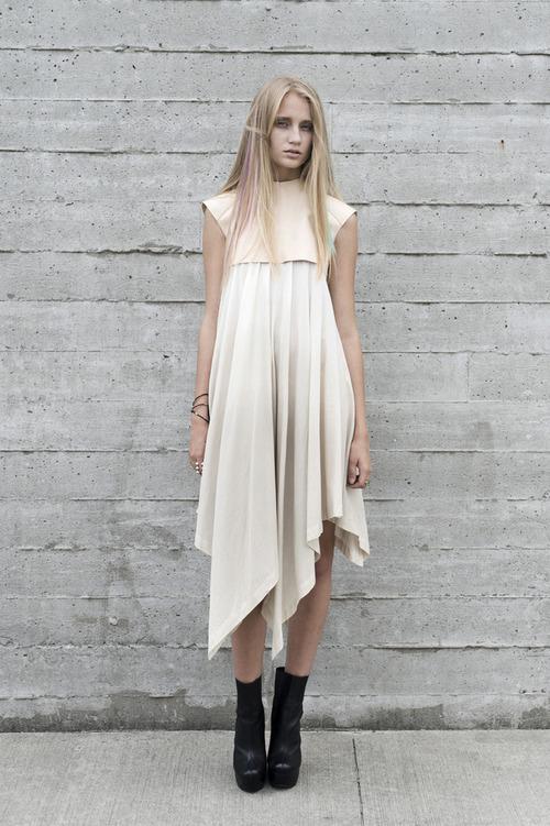 Titania Inglis Overlay Peak Dress