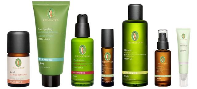 Primavera organic skincare and beauty