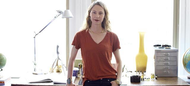 Anne Sanford of LURK Natural Perfumes