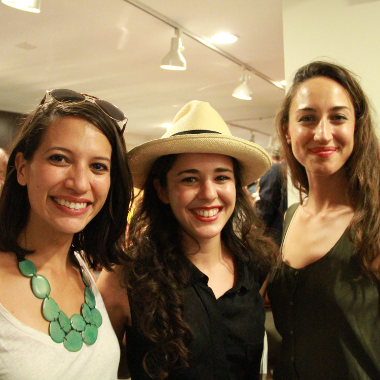 Jess Marati, Carrie Parry, Juliette Donatelli