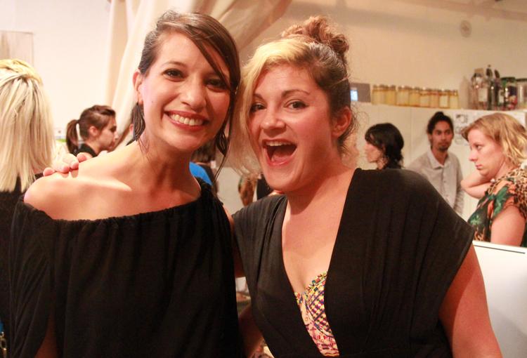 Green bloggers Jessica Marati and Starre Vartan