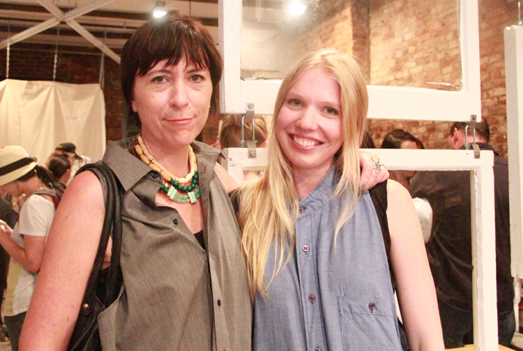 Sustainable consultant and journalist Amy DuFault and designer Adrienne Antonson of State