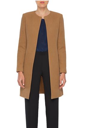 Amourt Vert Louise Camel Coat, $365
