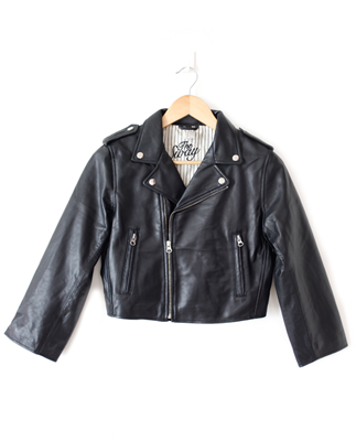 The Sway Byron Leather Jacket, A Boy Named Sue, $550