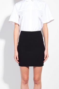 Honest By Black Organic Wool Mini Skirt, $254
