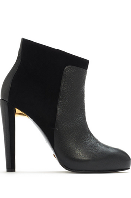 Maiyet Black High Heed Combo Ankle Boot, $995