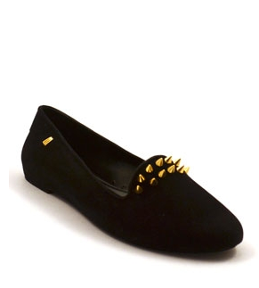 Melissa Studded Loafers, Compassion Couture, $85