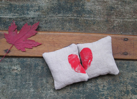 Eco-friendly Heart Handwarmers