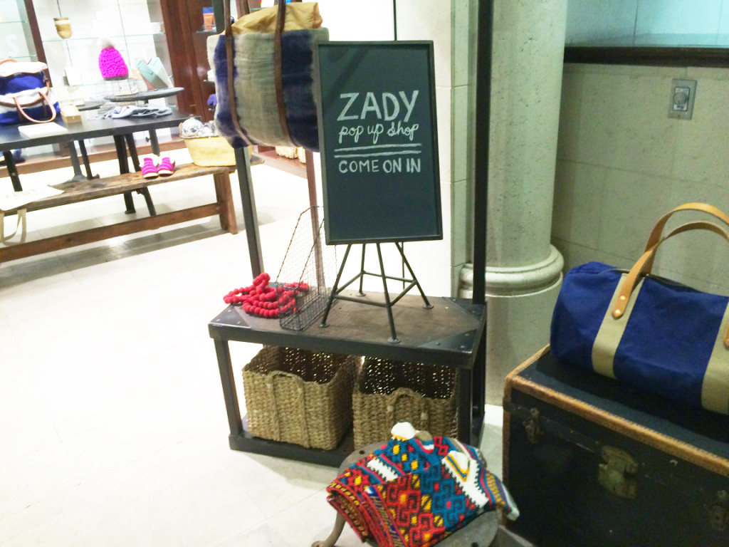 Zady Pop-Up