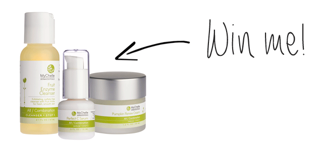Win This MyChelle Non-Toxic Everyday Basics Skin Set!