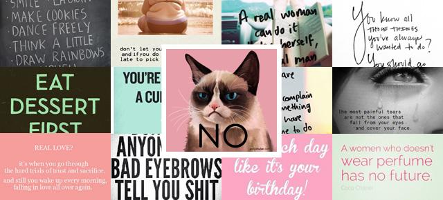 Pinterest quotes grumpy cat
