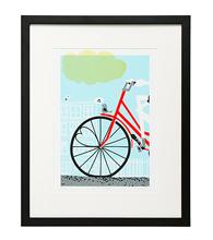 bike wall art