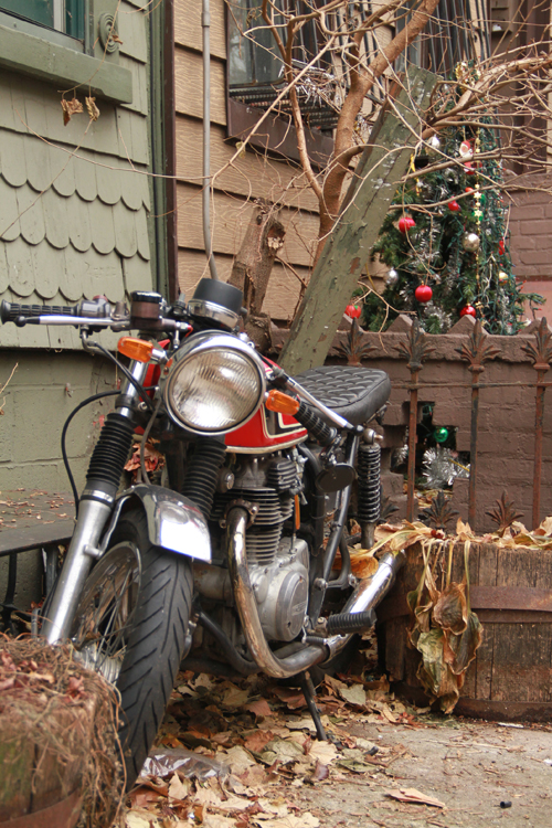 Christmas Motorcycle