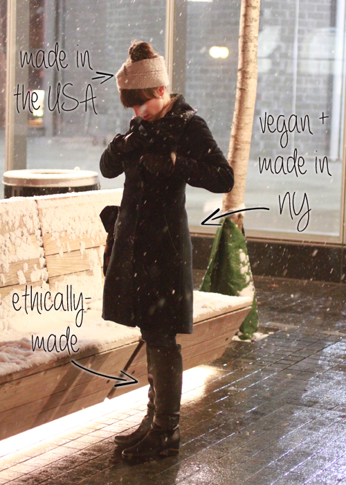 Ethical Street Style: Snow Days Are the Best Days!