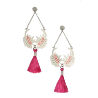Joanna Cave earrings on Yooxigen