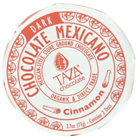 Taza cinnamon dark chocolate // Fair Trade, organic
