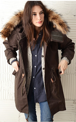 United by Bamboo coat