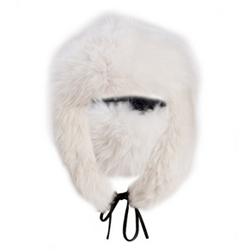 Fox fur hat // made in America