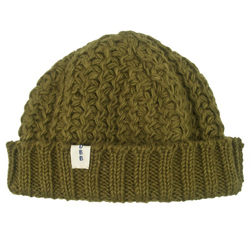 Knit hat // 100% Nepalese Wool // Handmade in Nepal // When you purchase this product, you help UBB remove 1 pound of trash from oceans and waterways around the world.