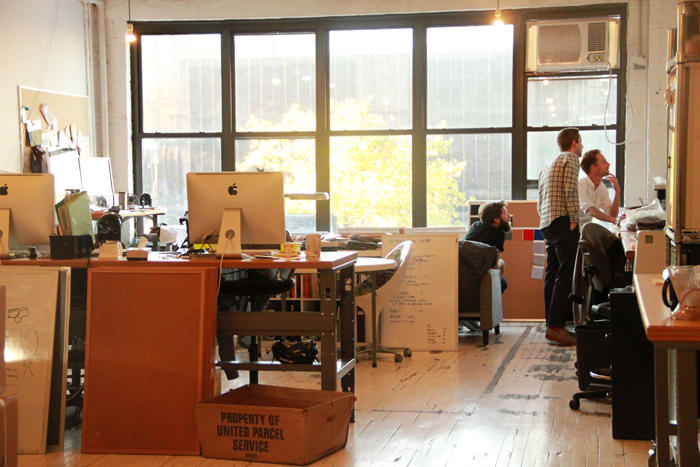 The Outlier headquarters in Williamsburg