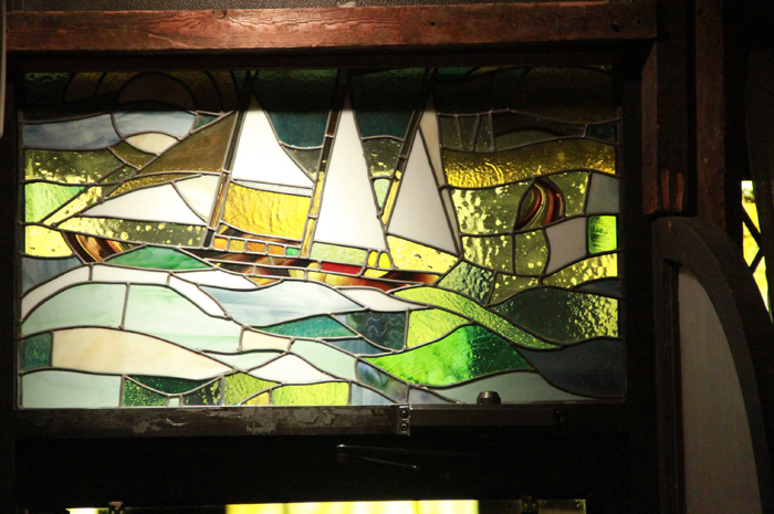 Custom stained glass by Aaron Wood