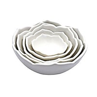 Catherines Table Nesting Lotus Bowl // Fights hunger by helping to fund warm meal deliveries to seniors across America through Meals on Wheels.