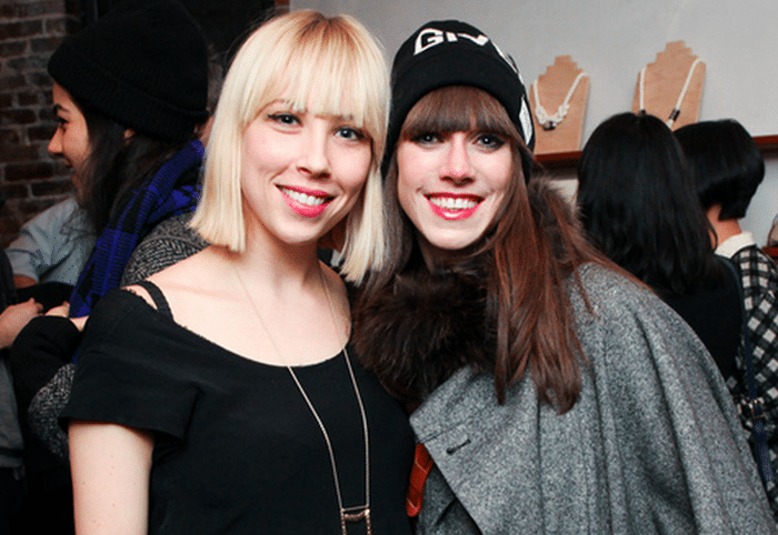 Helpsy owner Rachel Kibbe and EcoCult's EIC Alden Wicker