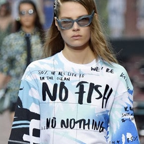 I Spy a Designer Shirt With an Environmental Message by Kenzo