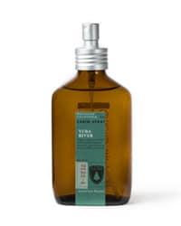 Juniper Ridge Cabin Spray. This gives your apartment a fresh, non-toxic, outdoorsy scent.