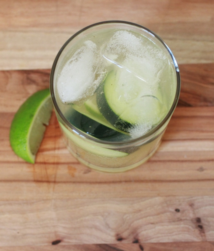 Happy Cucumber Mule Recipe // with organic and fair trade ingredients