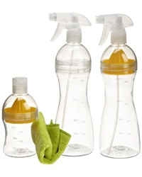 Spray Bottle - This one comes with a lemon juicer right inside!