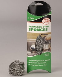Steel Wool - This isn't necessarily an eco-friendly brand, but you can be sure it will last you a long time.