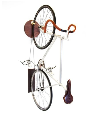 Gorgeous bike hanging system // made in New York City