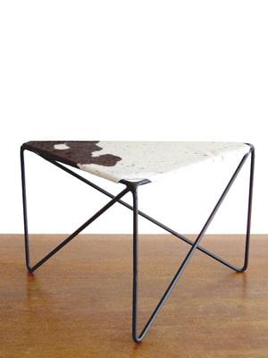 Zig zag stool // made in New York City