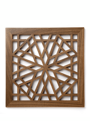 Wooden trivet // ethically made from sustainably-harvested wood in Afghanistan