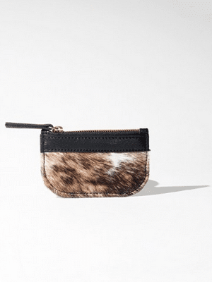 Coin purse // vegetable-tanned leather and organic lining