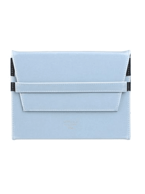 Blue iPad case // vegan, made from recycled materials