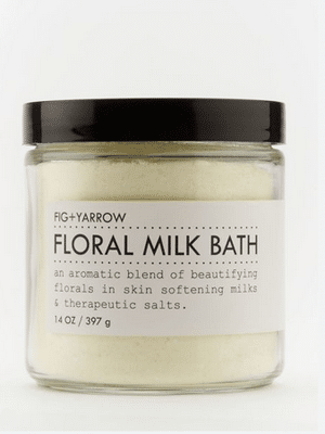 Floral milk bath / organic ingredients, small batch