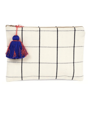 Cosmetic bag // ethically made by artisans in Guatemala
