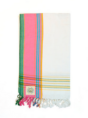 Kikoy Bath Towel // 100% cotton, proceeds help improve healthcare in Tanzania